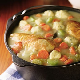 I haven't made chicken and dumplings in ages.  Love this comfort food.
