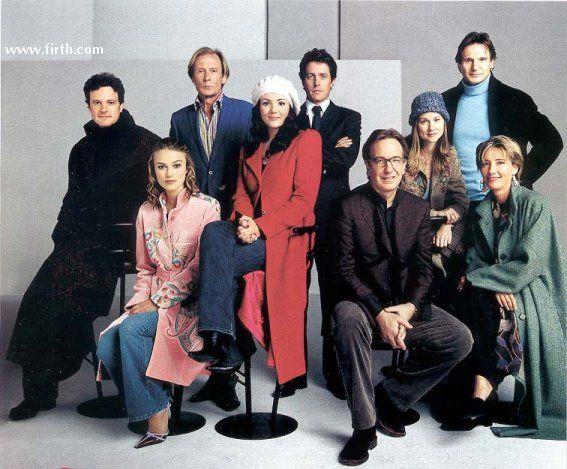 Love Actually: Alan Rickman, Cast, Alanrickman, Love Actually, Favorite Movies, Colin Firth, Films, Photo