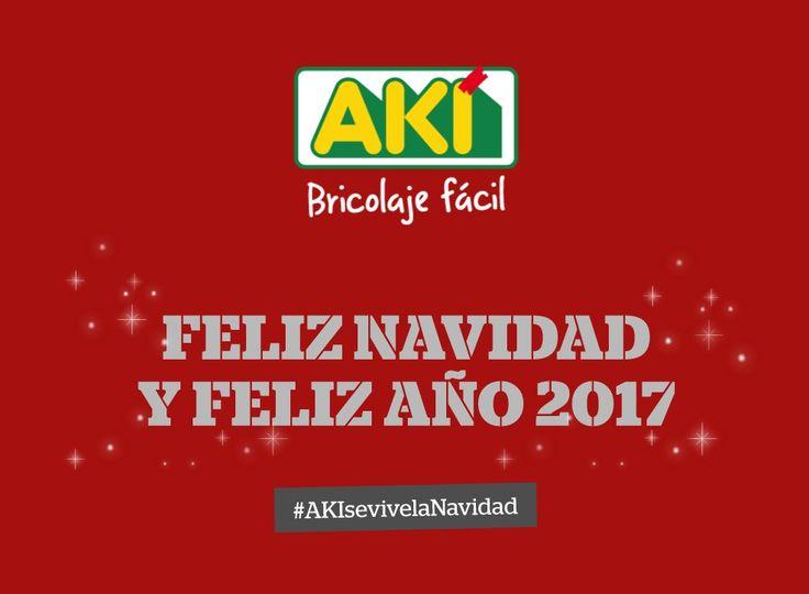 Os deseamos a todos una #FelizNavidad repleta de buenos momentos... #AKIsevivelaNavidad