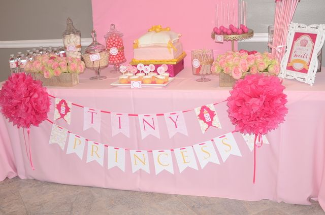 princess baby shower decorations royal princess baby shower party