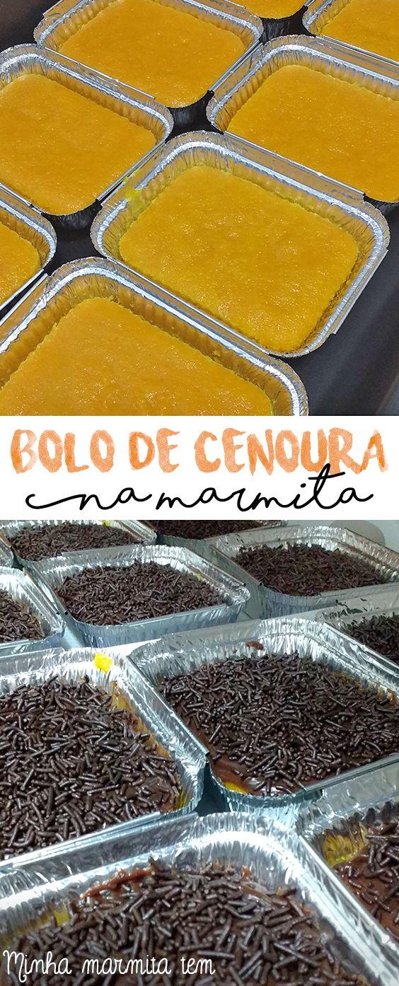 Já pensou num bolo de cenoura com aquela cobertura de brigadeiro deliciosa? Vai lá no blog aprender a fazer!