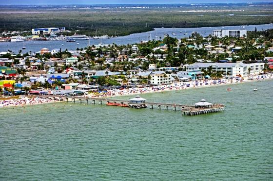 Fort Myers Beach & Pier  Descubra a Flórida/orlando-florida.tv