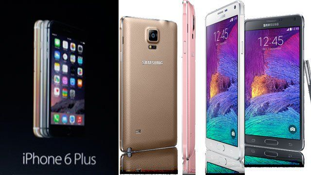 Smartphone Battle: iPhone 6 Plus Vs Samsung Galaxy Note 4 Vs LG G3