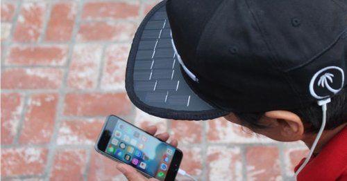 Une casquette solaire pour charger son smartphone (TomsGuide)