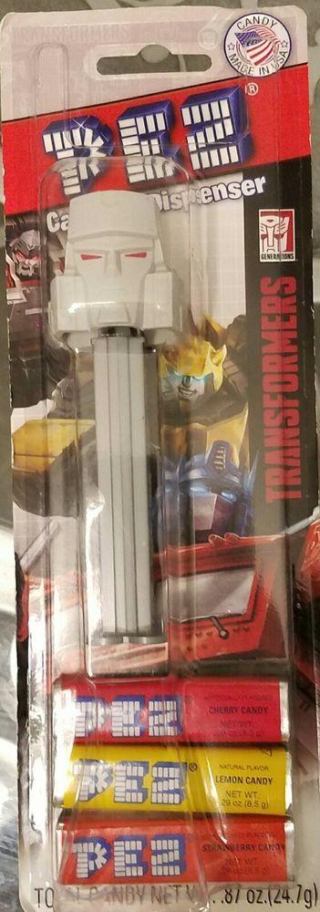 Hasbro TRANSFORMERS Megatron Pez Dispenser