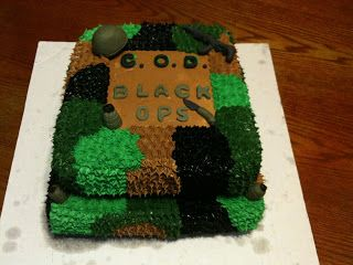 Madi Cakes: Call of Duty Black Ops cake!!!