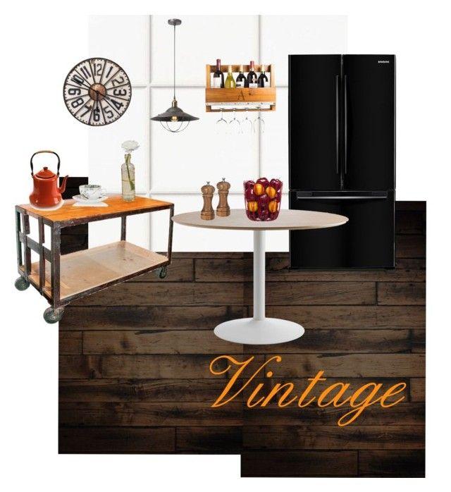 Vintage by tarekzg on Polyvore featuring interior, interiors, interior design, hogar, home decor, interior decorating, Dainolite, Cathy's Concepts, Sagaform and LTD