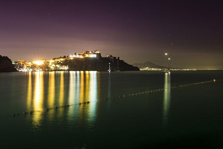Terra Murata e Corricella da Chiaia, Isola di Procida, Napoli, Italy  giugno 2016  #procida