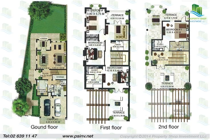 51 Best Row And Town Homes And Plans Images On Pinterest