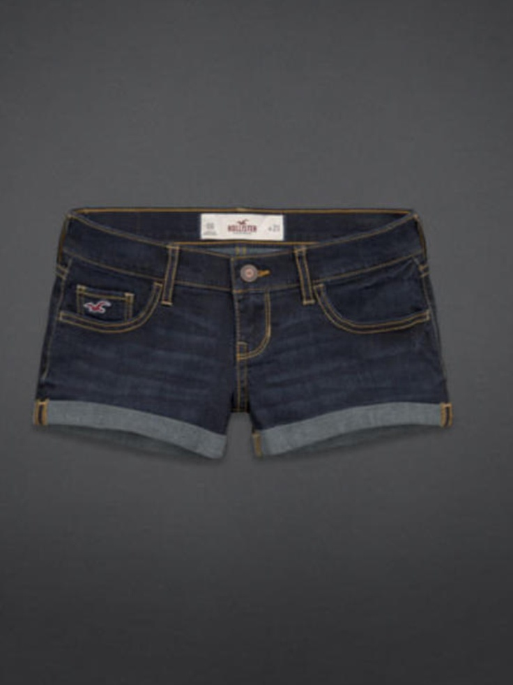 Hollister jean shorts!!! these are the ones I have