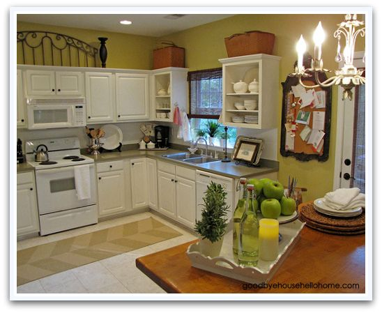 Goodbye house hello home homemaking interior design for Kitchen staging ideas