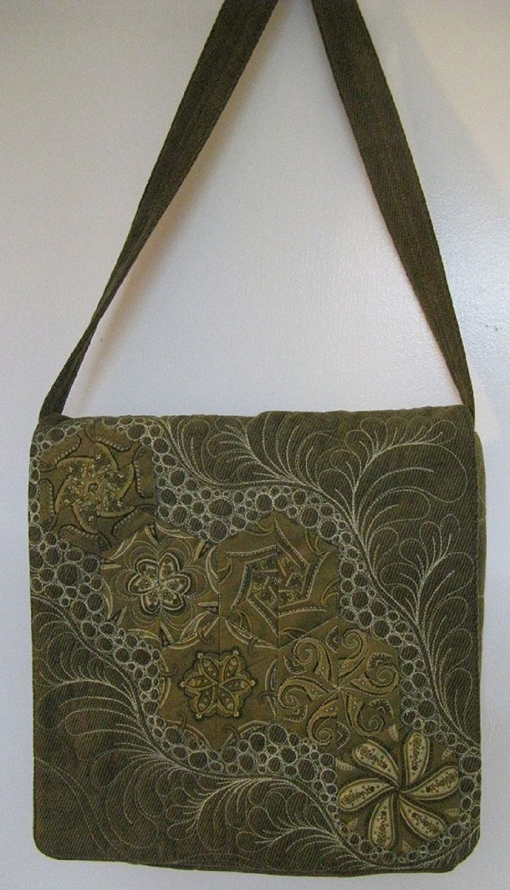 Messenger Bag-inspiring quilting!!