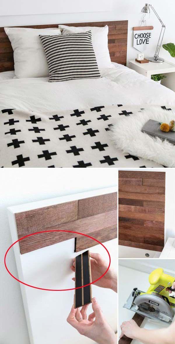 Po et n pad na t ma postele z palet na pinterestu 17 for Cheap alternative to stikwood
