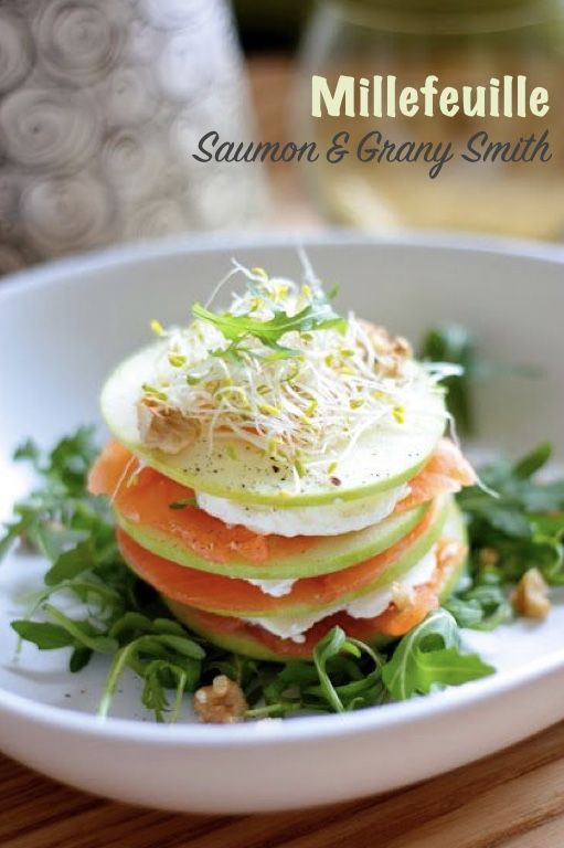 Millefeuille Saumon & Grany Smith