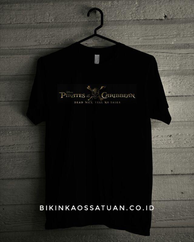 Kaos Logo Pirate of Caribbean - Bikin Kaos Satuan