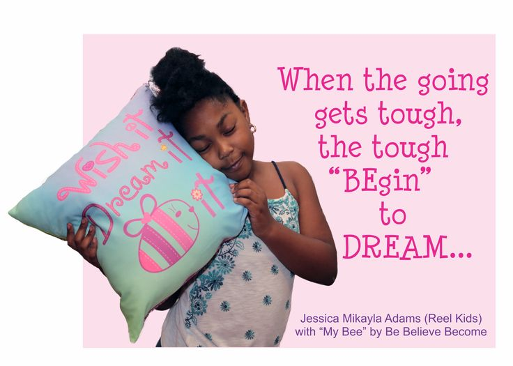 """When the going gets tough, the tough """"BEgin"""" to dream..."""