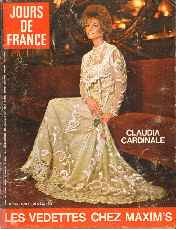 Jours DE France N°836 Claudia Cardinale Jacqueline Baudrier Maxim'S J Clerc | eBay