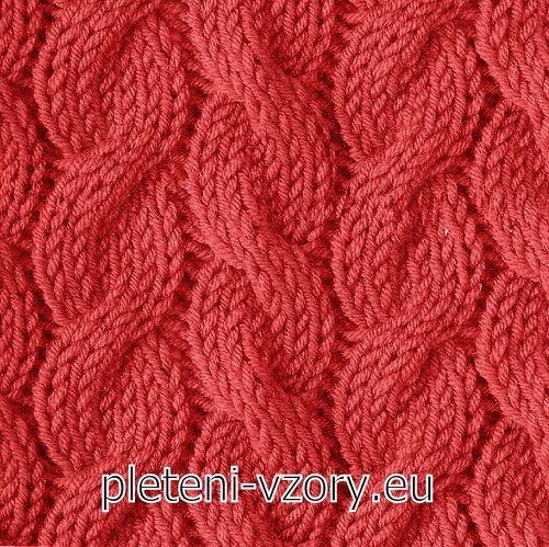 Vzor č. 84 - Kaleidoskop vzorů pro ruční pletení