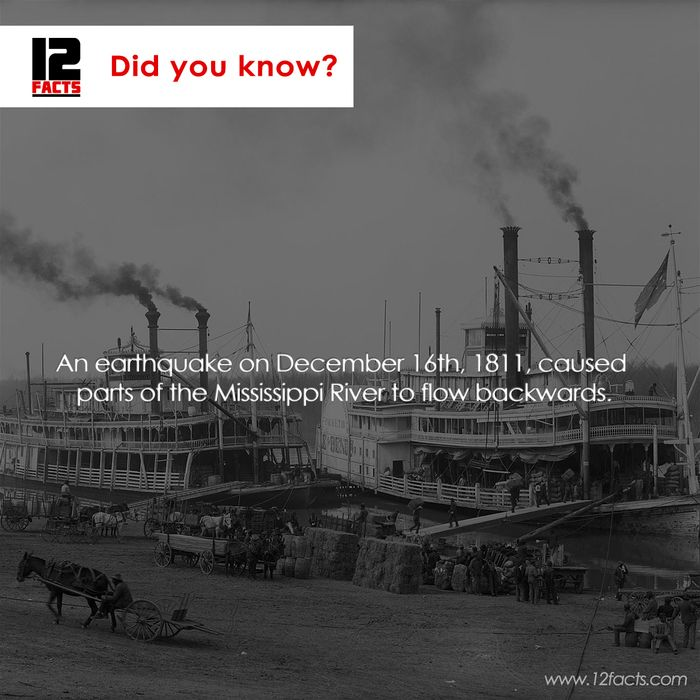 Did you know? Interesting facts about Mississippi River.