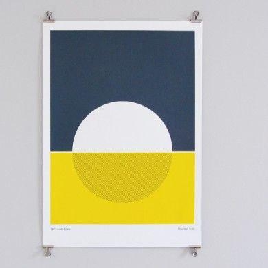 Geometric Screen Print Design