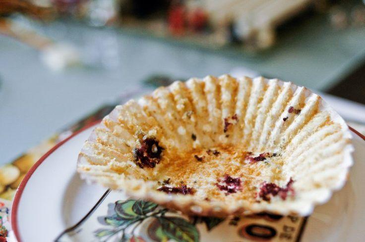 Muffins aux myrtilles et son d'avoine Recette