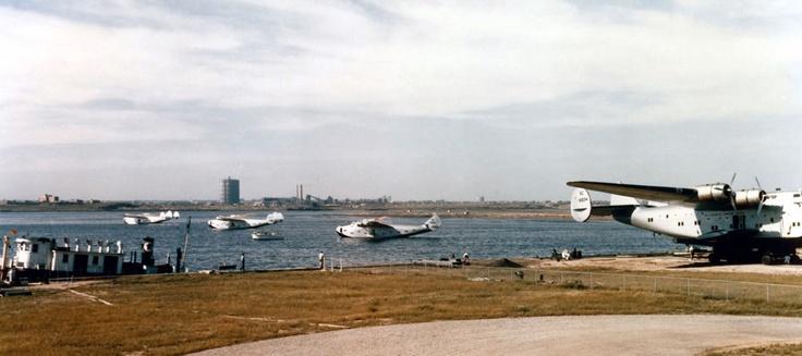 Boeing B-314 Fleet at Marine Air Terminal