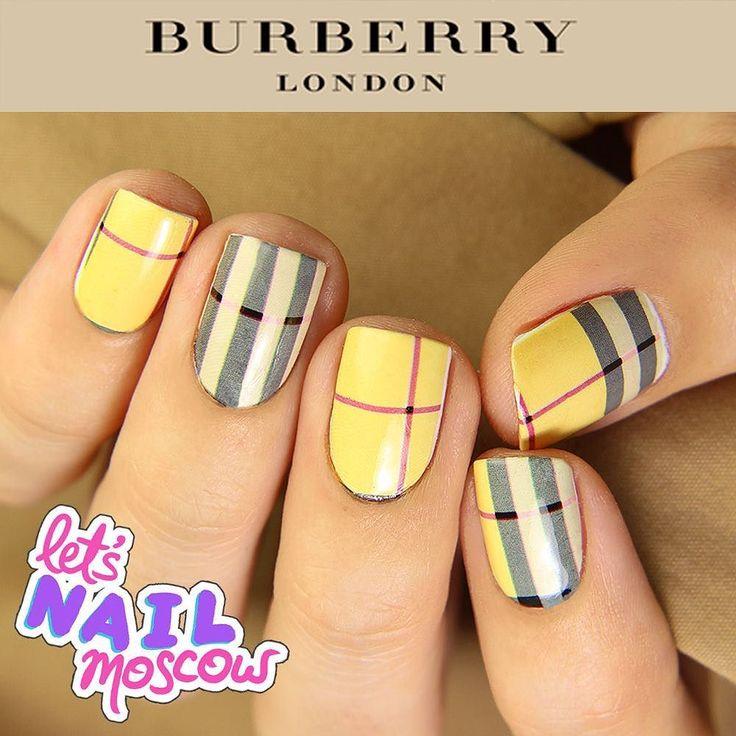 #nails #nailart #beautifulnails #funnails #ногти #маникюр #красивыеногти #fashionnails #Burberrynails  Новый маникюр в серии модных домов - Burberry  Британский брэнд сделавший клетку своей визитной карточкой  #Burberry