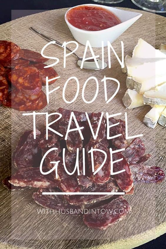 Spain Food Travel Guide http://www.withhusbandintow.com/spain-food-travel-guide/ Get tips on where and what to eat in Spain, including travel in Madrid, Barcelona, and Catalunya. Tracking down all of the best eats in Spain.