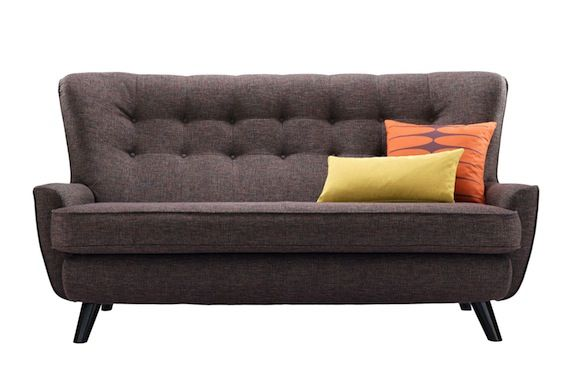 G plan sofa, love.