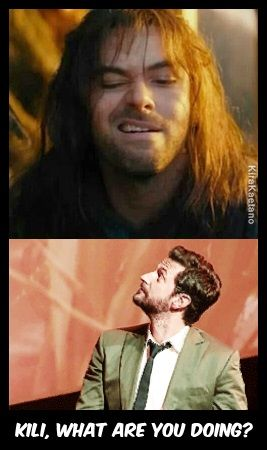 Kili, what exactly are you doing? o.O