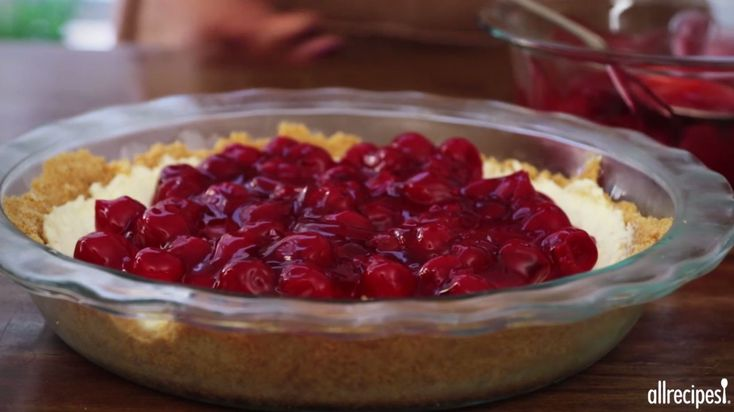 Dessert Recipes - How to Make Unbaked Cherry Cheesecake
