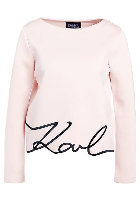 KARL LAGERFELD KARL SIGNATURE - Sweatshirt - rose smoke for £164.99 (02/08/17) with free delivery at Zalando