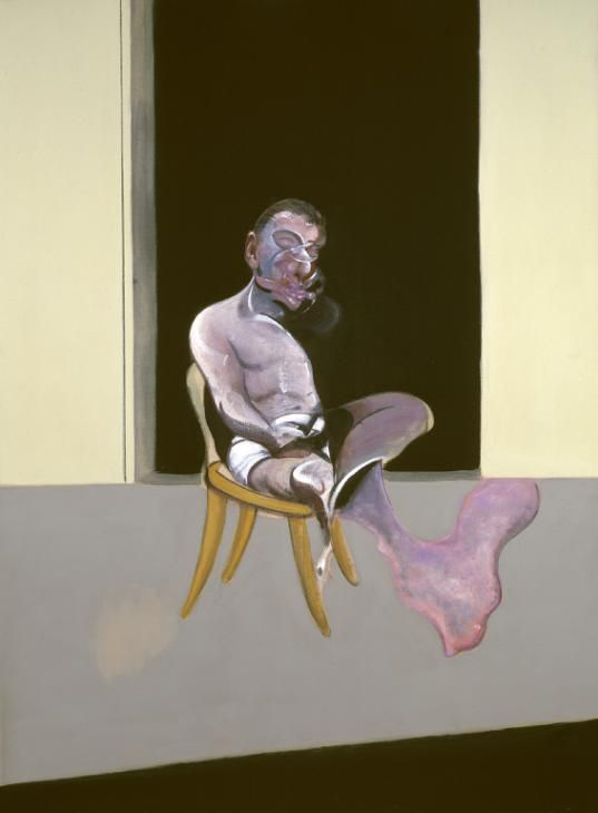 'Triptych August 1972', Francis Bacon, 1972 | Tate Gallery - London