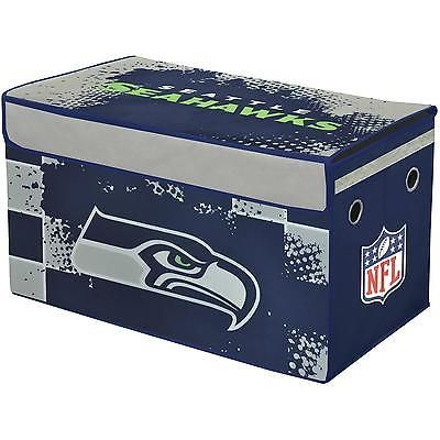 Kid Collapsible Storage Toy Trunk Organizer Seattle Seahawks Playroom Bedroom