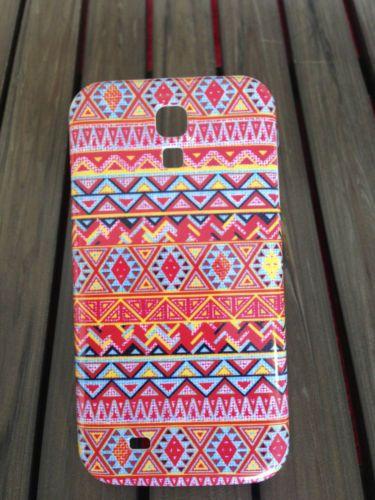 Coque pour Samsung Galaxy S 4 / Aztec Tribal Ethnic Graphique Maya Art Premier