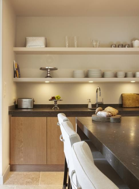 17 beste idee n over zwevende planken keuken op pinterest open planken open rek keuken en - Deco open keuken ...