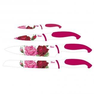"""Genius Zestaw noży """"Róże"""" http://www.redcoon.pl/B439623-Genius-Zestaw-no%C5%BCy-R%C3%B3%C5%BCe_No%C5%BCe-i-sztu%C4%87ce"""