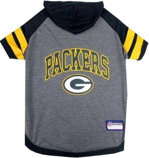 Green Bay Packers Hoodie Dog Tee