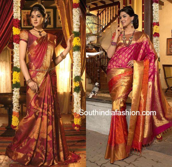Más de 25 ideas increíbles sobre Silk saree kanchipuram en ...