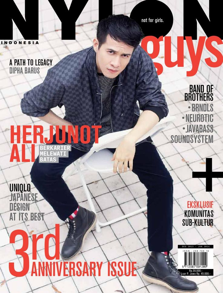 NYLONguys Indonesia / Dec Jan 2014  HERJUNOT ALI