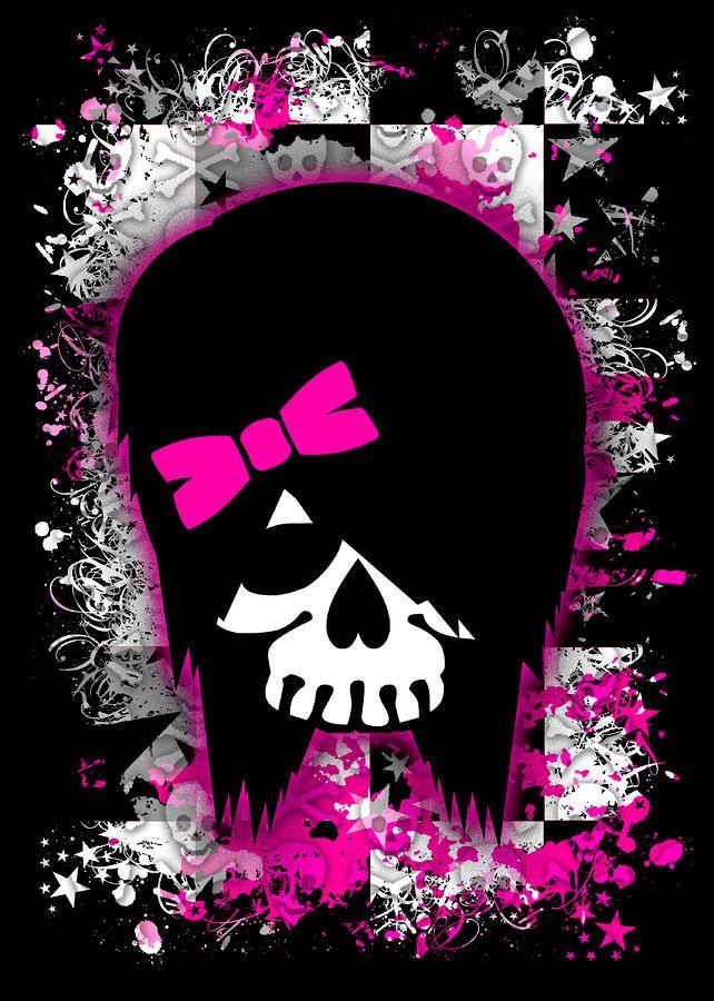 1-scene-kid-girl-skull-roseanne-jones.jpg (642×900)