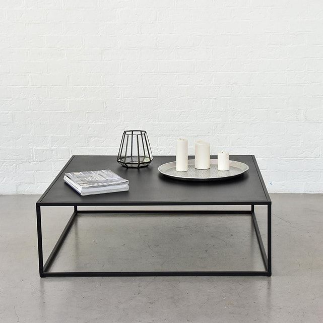 Table Basse Carree Bricklane En 2020 Table Basse Metal Table Basse Carree Table Basse