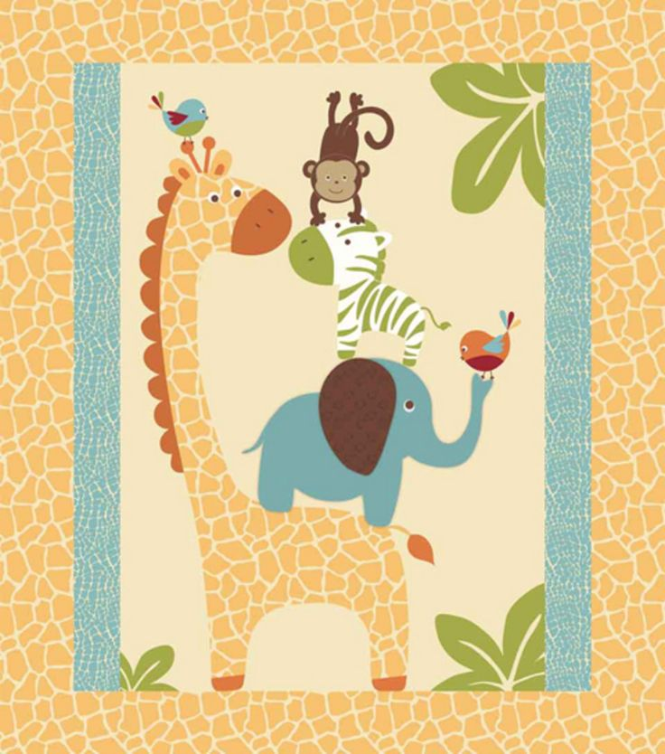 17 best images about jungle themed baby quilt on pinterest for Safari fabric for nursery