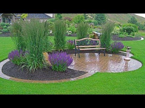 Creative Diy Garden Landscape Design Ideas Youtube Garden Landscape Design Front Yard Landscaping Front Yard Landscaping Design