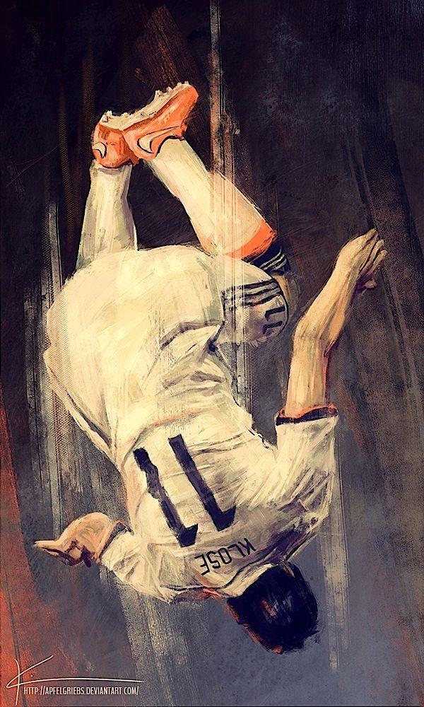 Miroslav Klose by Kim Christensen