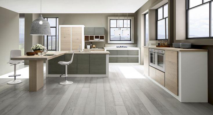 Vere o effetto mattone, nelle cucine in muratura moderne, le finiture fanno la differenza, dall'ecomalta al cemento, e diventano altamente personalizzabili