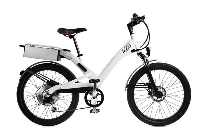 """BF. The """"Octave"""" electric bike by A2B. http://www.wearea2b.com/us/collection"""