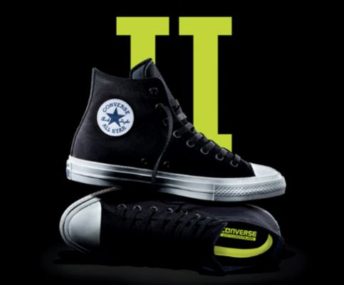 It's here. Are you ready for #ChuckII? #converse #covetme