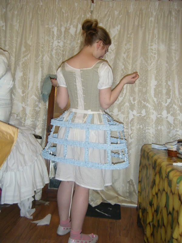 pannier skirt how to make