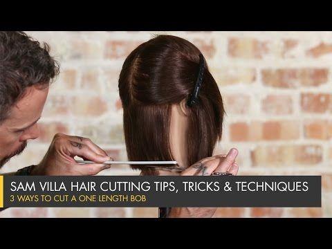 3 Ways to Cut a One Length Bob / Sam Villa - Professionals